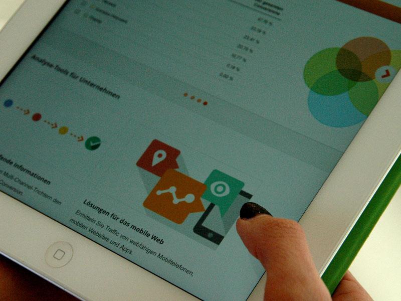 Gute Berufsaussichten für Studierende im Studiengang Onlinekommunikation im Bereich Marketing.