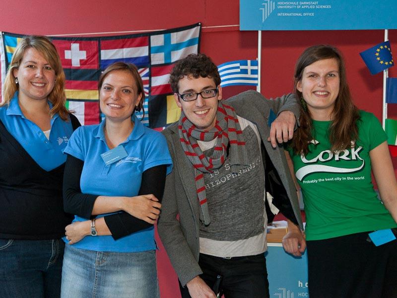 Wahlpflichtfächer im Bereich Sprachen, Studiengang Onlinekommunikation an der Hochschule Darmstadt.