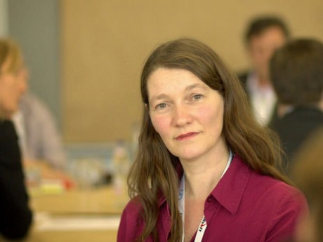 Sabine Hueber ist didaktische Mitarbeiterin von #onkomm