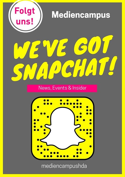 Snapchat am Mediencampus