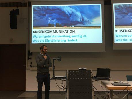 Krisenkommunikation im Zeitalter der Digitalisierung