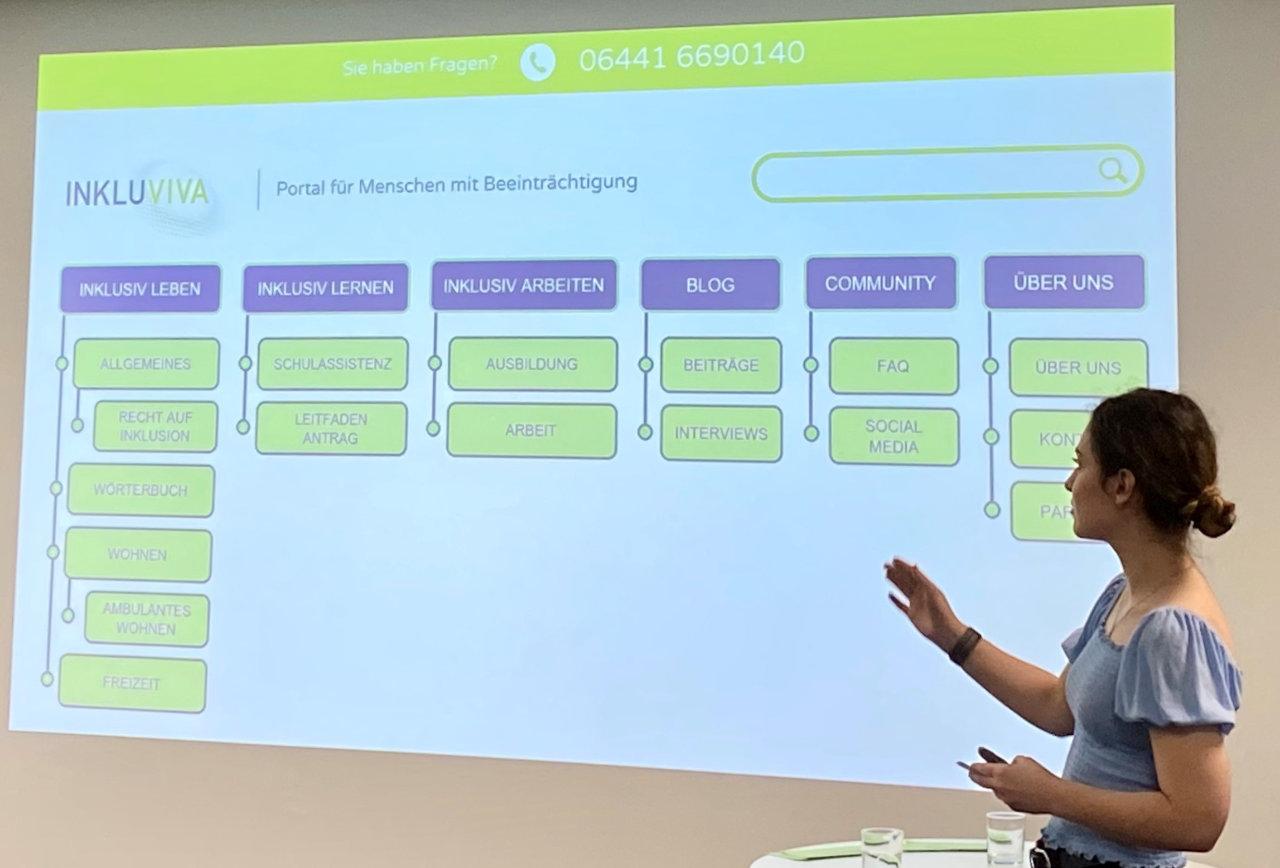Lernagentur Online Marketing II Inkluviva Abschlusspräsentation Anna Kushnir