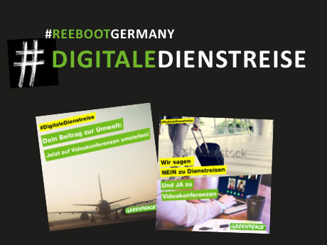 #DigitaleDienstreise – Eine Kampagne für Greenpeace