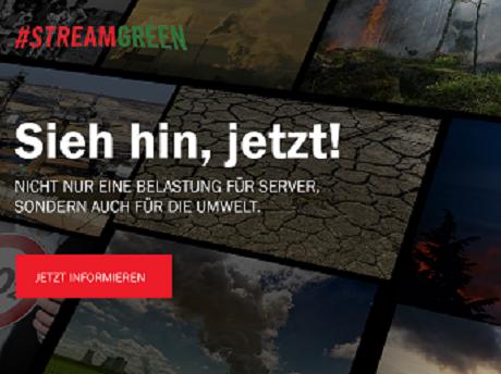 #StreamGreen: Netflix und Amazon werdet grün!