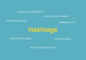 Hashtag_Kampagne Massentierhaltung
